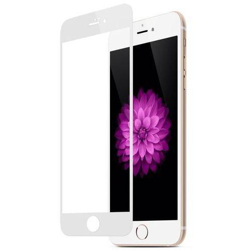 Hartowane szkło ochronne Zolti 0.3mm 9H dla Apple iPhone 6/6S z białą ramką - Biały