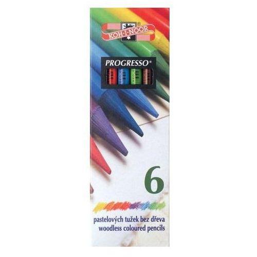 Kredki ołówkowe Koh-I-Noor Progresso 8755 6kol.