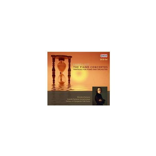 Franz Liszt: The Piano Concertos, Fantasies For Piano And Orchestra