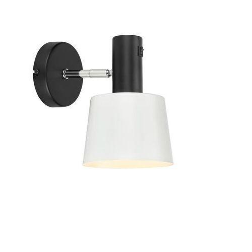 Markslojd Kinkiet lampa ścienna bodega 107216 metalowa oprawa reflektorek biały czarny