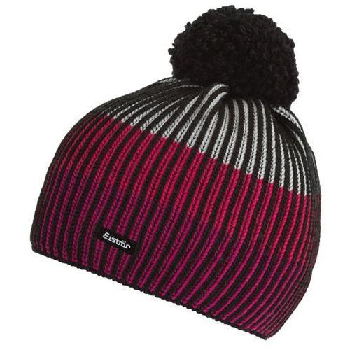 Eisbar czapka zimowa New Star Pompon pink, kolor różowy