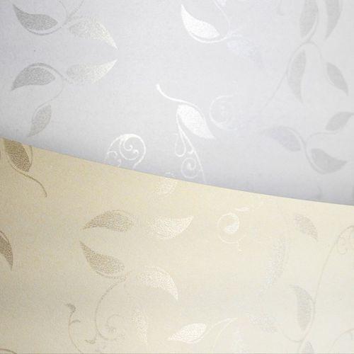 Papier ozdobny Liana Galeria Papieru, biały, format A4, opakowanie 50 arkuszy, 206501, kup u jednego z partnerów