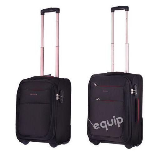 Zestaw walizek Puccini Camerino RyanAir + Wizzair - czarny - sprawdź w wybranym sklepie
