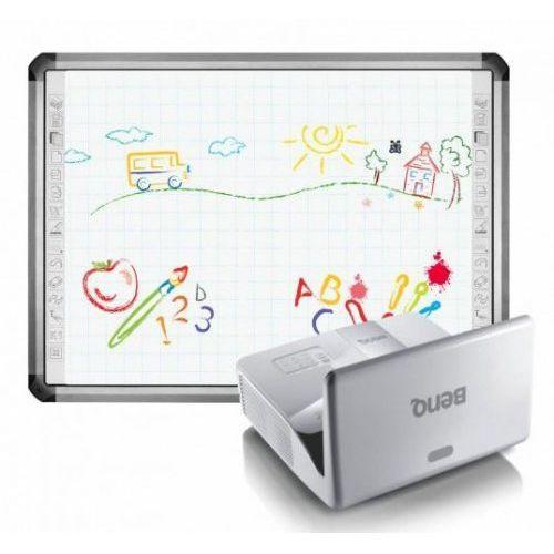 Tablica Newline TruBoard R5-800L z projektorem BenQ MX842UST i uchwytem BenQ