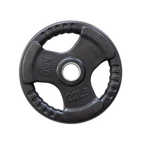 Hms tok10 - 17-61-034 - talerz olimpijski ogumowany 10kg - 10 kg