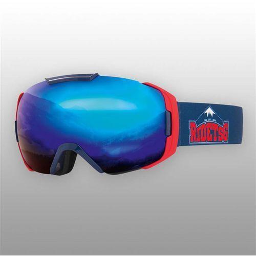 Gogle snowboardowe - goggle one team chunk blue chrome - yellow bonus lens (249) rozmiar: os marki Tsg