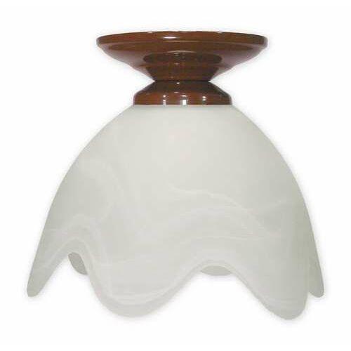Podsufitka brązowa lampa sufitowa 1-punktowa 001/w1 k_6 marki Lemir