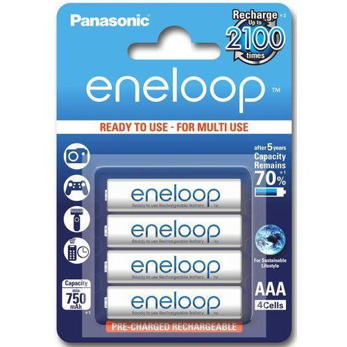 Panasonic 4 x akumulatorki  eneloop r03 aaa 800mah bk-4mcce/4be (blister)