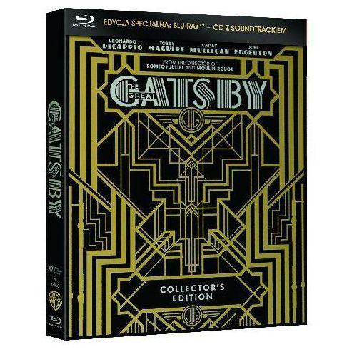 Wielki Gatsby (Edycja kolekcjonerska) (Blu-Ray + CD) - Baz Luhrmann DARMOWA DOSTAWA KIOSK RUCHU (7321918326383)