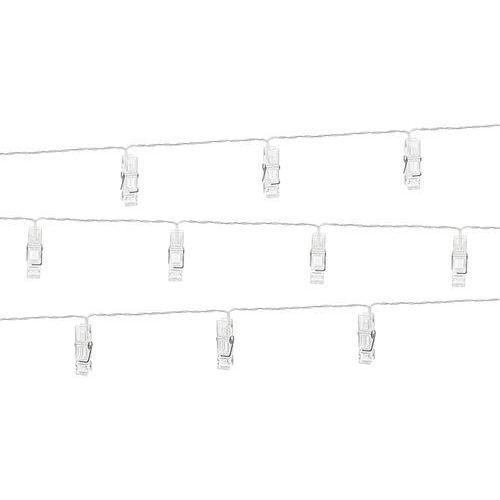 Lampki LED klamerki - 1,4m