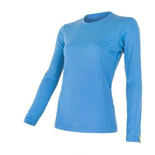 Sensor Bielizna termoaktywna merino wool active women's t-shirt long sleeves niebieski l