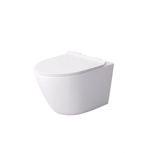 Massi Decos deska sedesowa Slim wolnoopadająca biała MSDS-3673DUSL (5902706780512)