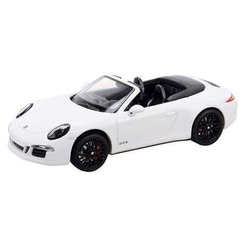 Model SCHUCO Porsche 911 Carrera GTS Cabrio Biały + DARMOWY TRANSPORT!