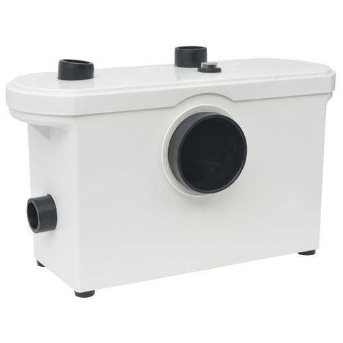 vidaXL Pompa WC z rozdrabniaczem, biała, 600 W (8718475519263)