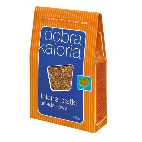 Płatki śniadaniowe lniane dobra kaloria 200g od producenta Ekoprodukt