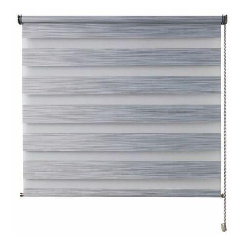 Roleta dzień/noc Colours Kala 86,5 x 180 cm szara (3663602986881)