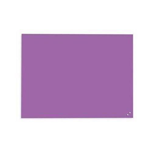 Naga szklana tablica magnetyczna fioletowa 60x80 cm (10373) (5708573103733)