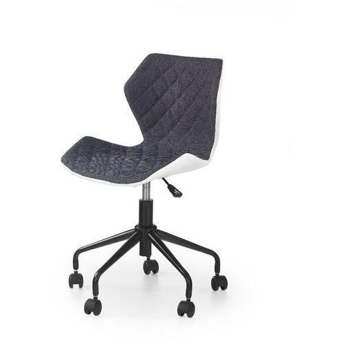 Style furniture Swage fotel młodzieżowy szaro-biały