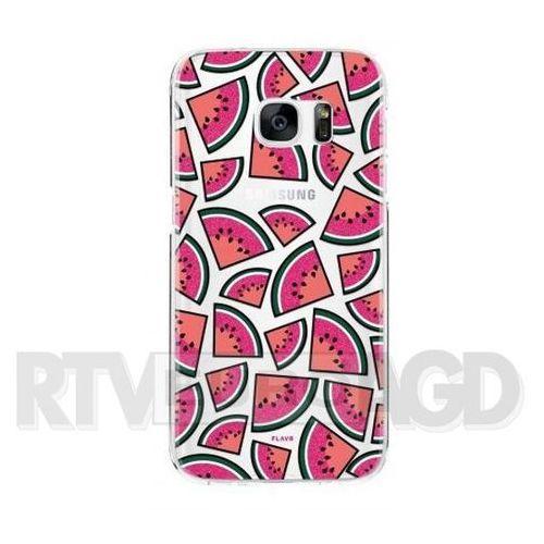 iplate watermelon samsung galaxy s7 (kolorowy) marki Flavr