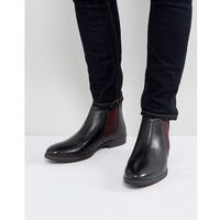 chelsea boots with contrast - black marki Red tape