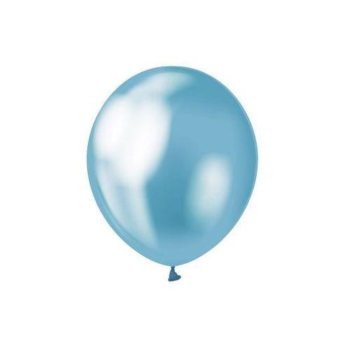 Balony lateksowe platynowe niebieskie - 30 cm - 7 szt. (5902973127775)
