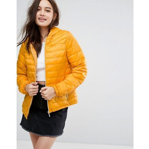New Look Lightweight Padded Jacket - Yellow