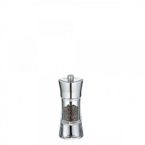 Zassenhaus młynek do pieprzu, śred. 5,8x14 cm, stalowo-akrylowy