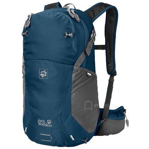 Jack wolfskin moab jam 24 plecak damski turystyczny 50 cm / granatowo - szary - poseidon blue