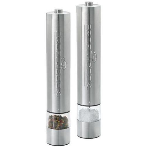 Zestaw 2 elektrycznych młynków do soli i pieprzu PS-PSM 1031 (4006160010329)