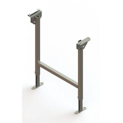 Gura fördertechnik Stojak podwójny, ocynkowany, szer. taśmy 500 mm, zakres regulacji 580 - 950 mm.