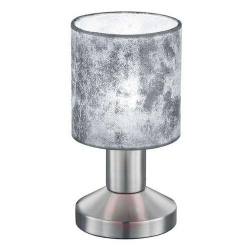 Trio GARDA Lampa stołowa Nikiel matowy, 1-punktowy - Nowoczesny - Obszar wewnętrzny - GARDA - Czas dostawy: od 4-8 dni roboczych, 595400189