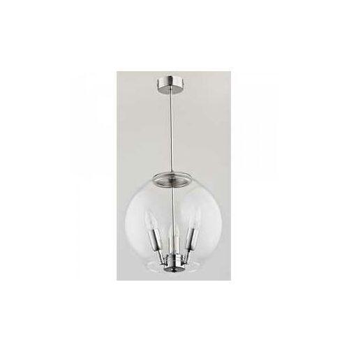 Alfa Mimo 6015700 plafon lampa sufitowa 3x40W E14 srebrny (5900458601574)
