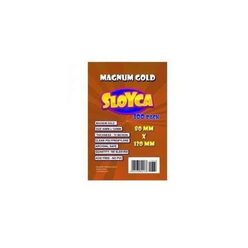 Koszulki Magnum Gold 80x120mm (100szt) SLOYCA