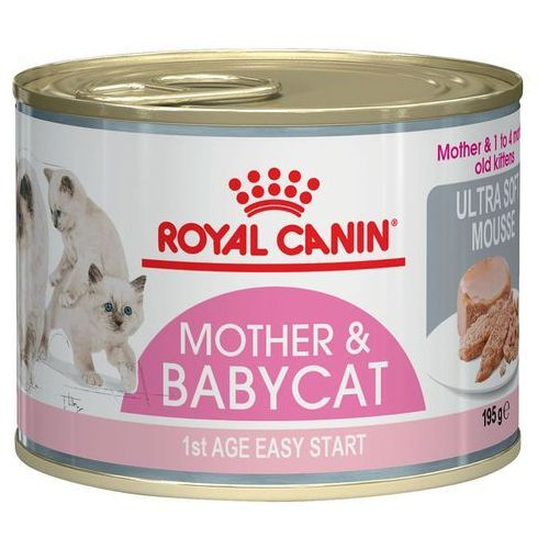 Royal canin  babycat instinctive - puszka 6x195g