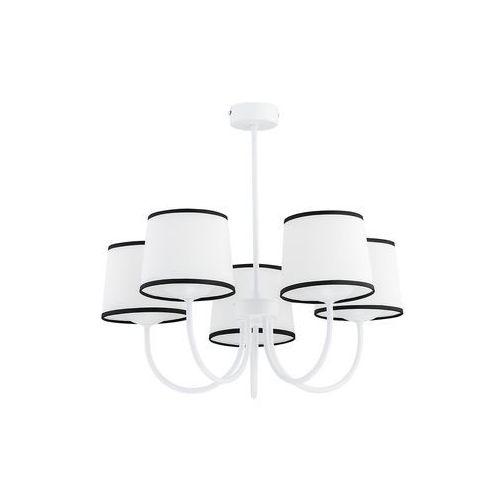 lume o2795 w5 bia plafon lampa sufitowa żyrandol 5x60w e27 biały mat marki Lemir