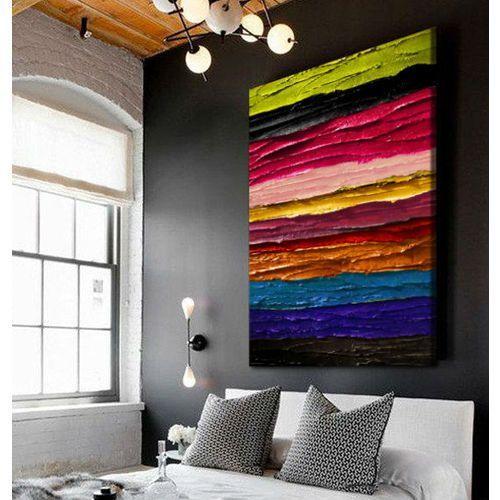 Obrazy ręcznie malowane z fakturą - nowoczesne kolory marki Pracownia art.&texture