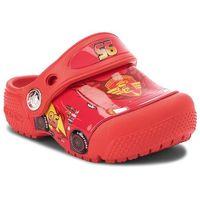 Klapki CROCS - Crocsfunlab Cars Clog K 204116 Flame, kolor czerwony