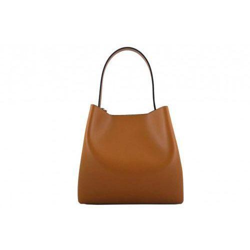 Kuferki damskie klasyczne - Barberini's - Brązowy jasny, kolor brązowy