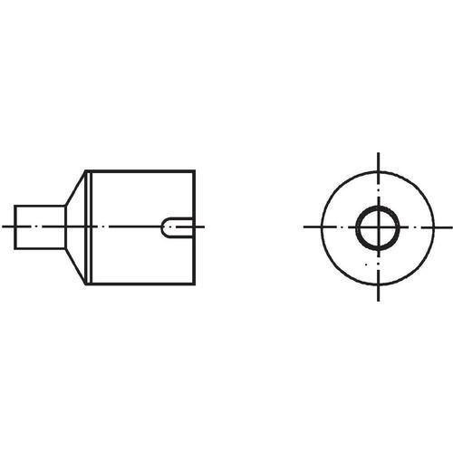 Weller Dysza gorącego powietrza  nr10, t0058736870 dysza powietrzna, 7 mm, 1 szt. (4003019005666)