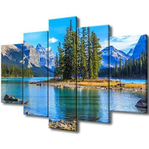 Obraz na Płótnie Jezioro Maligne krajobraz widok g