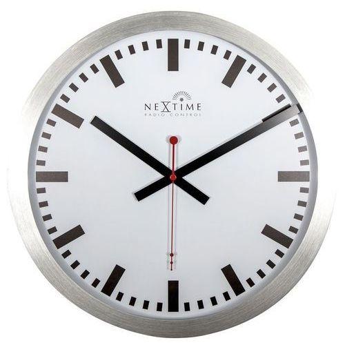 Nextime - zegar ścienny station radio controlled