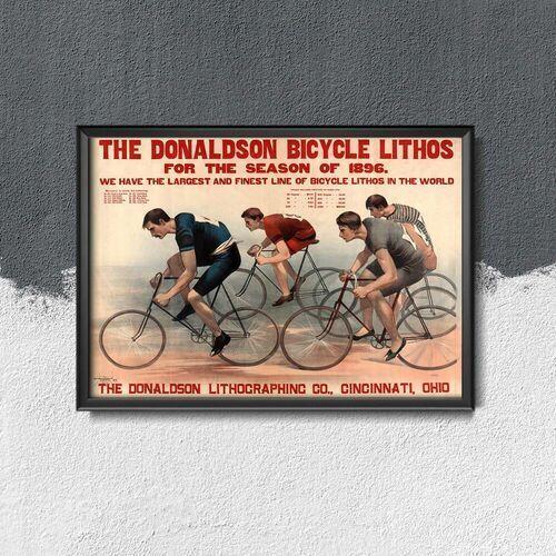 Vintageposteria.pl Plakatyw stylu retro plakatyw stylu retro berneńskie mistrzostwa rowerowe zurych