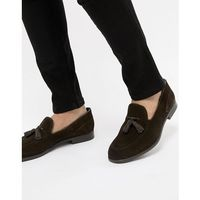 aylsham suede loafers in brown - brown marki H by hudson