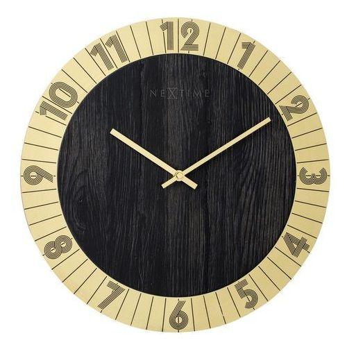 Zegar ścienny Flare złoty, 3198GO