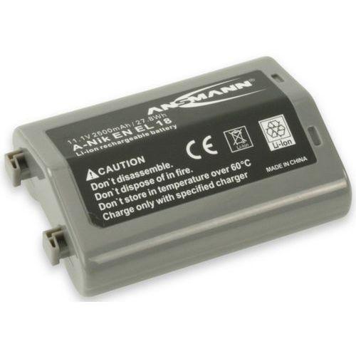 Ansmann Akumulator do nikon a-nik en el 18 (2500 mah) + darmowy transport!