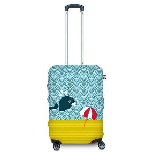 Pokrowiec na walizkę BG Berlin S - light whale