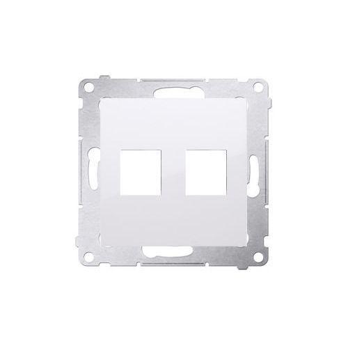 Pokrywa gniazd teleinformatycznych biały DKP2.01/11 SIMON54
