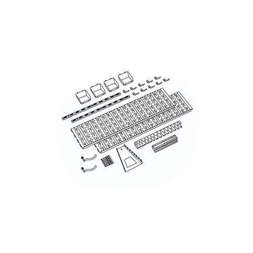 Panel na narzędzia i pojemniki, 19 uchwytów na narzędzia, 4 pojemniki marki Element system