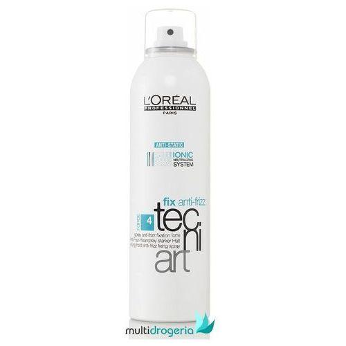LOREAL Tecni Art Fix Anti-Frizz Spray Mocno Utrwalający 400 ml