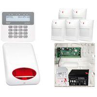 Zestaw alarmowy: płyta główna perfecta 16 + manipulator prf-lcd + 5x czujnik ruchu + akcesoria marki Satel set